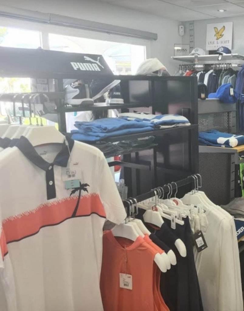 Adel's golf wear